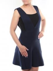 9121 Платье женское трикотажное (50% хлопок, 50% полиэстер )