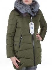 M16-78 Пальто женское с натуральным мехом Meajiateer