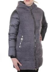 3010 Пальто женское с ангорой QiHongYun