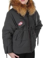 117-B Куртка зимняя женская FineBabyCat