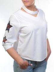 6683 Блузка женская (65% хлопок, 35% полиэстер)