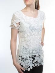 1915 Блузка кружевная женская (95% хлопок, 5% спандекс)