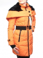 M12-356 Пальто зимнее женское (холлофайбер)