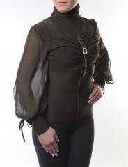 Блузка женская (85 хлопок, 15% спандекс)