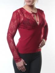 Блузка женская (90% полиэстер, 10% лайкра)