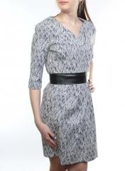1528 Платье женское (65% хлопок, 35% полиэстер)