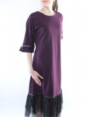 0674 Платье женское (100% полиэстер)