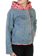 000 Куртка джинсовая с плюшем Misifeer