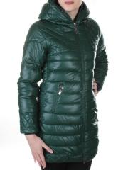 MY365 Пальто стеганое из эко-кожи My 365 fashion