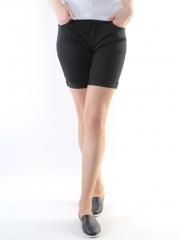 AL-0953 Шорты джинсовые женские (65% хлопок, 35% полиэстер)