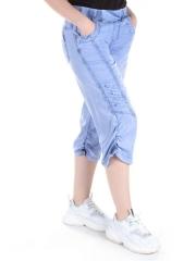 Капри джинсовые женские (100% хлопок)