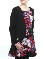 ST-1608 Платье утепленное женское (95% хлопок, 5% стрейч)