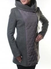 1810 Пальто кашемировое женское (20% шерсть, 80% полиэстер)