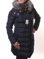 Y16-181 Пальто женское зимнее (холлофайбер, искусственный мех)