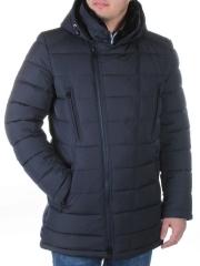 6549 Куртка мужская зимняя (холлофайбер, искусственный мех)