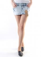 SK-08E Юбка джинсовая женская (98% хлопок, 2% эластан)