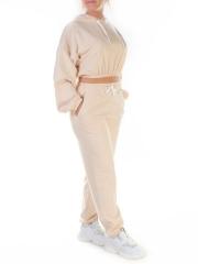 Y303 Спортивный костюм женский (100% хлопок)