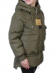 923 Куртка стеганая с карманами (холлофайбер)