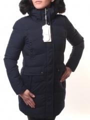 1616 Куртка женская зимняя (холлофайбер, искусственный мех)