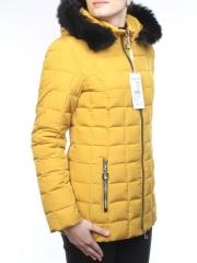1678 Куртка женская зимняя (холлофайбер, искусственный мех)