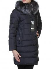 77070-1 Пальто с мехом чернобурки SkinnWille