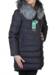77073 Пальто с мехом лисицы SkinnWille