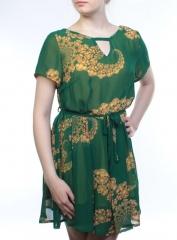 1519 Платье женское (100% полиэстер)