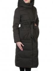 016 Пальто удлиненное с поясом First Love