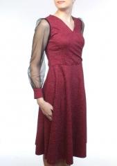 G1901 Платье женское (65% хлопок, 35% полиэстер)