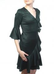 C1903 Платье женское (90% полиэстер, 10% эластан)