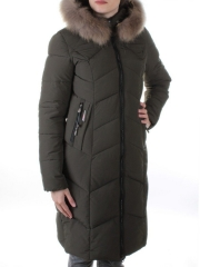 19-861 Пальто с мехом енота Kacuci