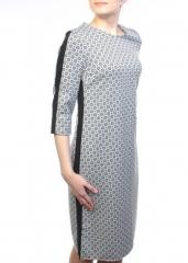 007-1 Платье женское (90% полиэстер, 10% эластан)
