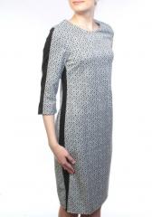 007-2 Платье женское (90% полиэстер, 10% эластан)