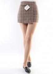 882-2 Юбка-шорты женская (95% полиэстер, 5% спандекс)
