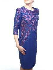 N1907 Платье женское (90% полиэстер, 10% эластан)