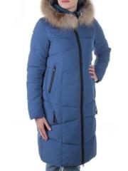 19-890 Пальто с мехом енота Kacuci