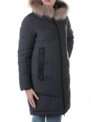 19-896 Пальто с мехом енота Kacuci