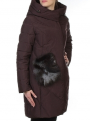 E-867 Пальто теплое стеганое EVCANBADY