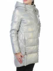 06-1 Пальто стеганое из эко-кожи First Love