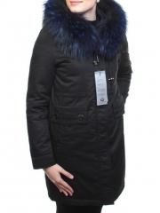M17-118 Парка зимняя женская (био-пух, натуральный мех лисицы)