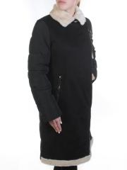 EV18-W046M Пальто зимнее женское (холлофайбер, искусственный мех)