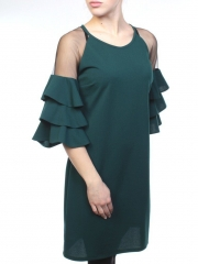 5099 Платье женское (90% полиэстер, 10% эластан)