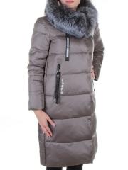 8226 Пальто женское с натуральным мехом Jarius