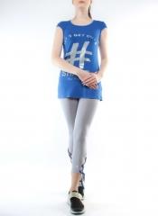 1204 Спортивный костюм двойка женский (90% вискоза, 10% лайкра)