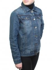 Y-7367 Куртка джинсовая женская (100% хлопок)