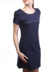 1607 Платье женское (90% хлопок, 10% полиэстер)
