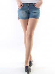903 Шорты джинсовые женские (98% хлопок, 2% полиэстер)