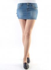 RW6032 Юбка джинсовая женская (98% хлопок, 2% полиэстер)