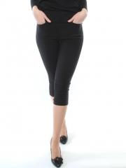 K02 Бриджи джинсовые женские (95% хлопок, 5% эластан)