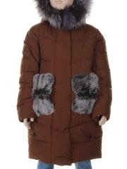 849 Куртка зимняя для девочки MALIYANA